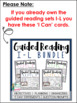 Guided Reading Levels I-L: JUST the 'I Can' Cards