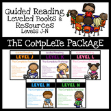 Guided Reading Books Levels J-N: The Complete Package Bundle - Distance Learning
