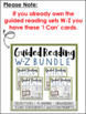 Guided Reading Levels W-Z: JUST the 'I Can' Cards