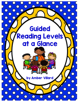 Guided Reading Levels at a Glance