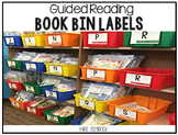 Guided Reading Library Labels
