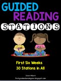 Guided Reading Literacy Stations ~First Grade~The First Six Weeks