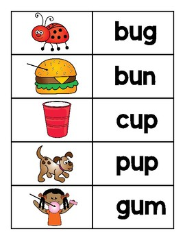 Guided Reading Literacy Stations ~First Grade~Week 5~ Short u