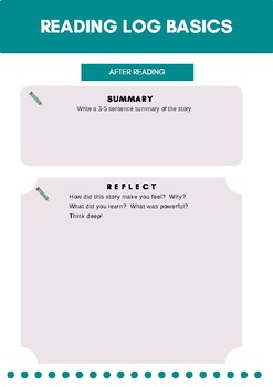 Guided Reading Log