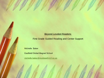 Guided Reading Logistics and Activities for Getting Starte