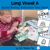 Guided Reading Long Vowel A Word Cards