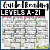 JUST POSTED: Guided Reading MEGA Bundle