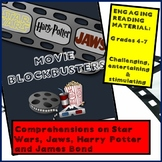 Guided Reading - MOVIE BLOCKBUSTERS - Harry Potter, Jaws,