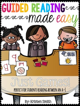 Guided Reading Made Easy- Just the Games!