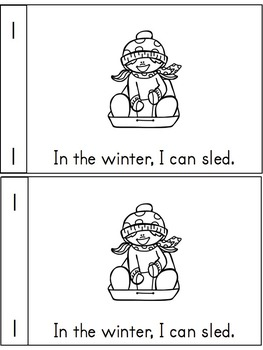 Guided Reading Made Easy- Winter Edition (for kinders)