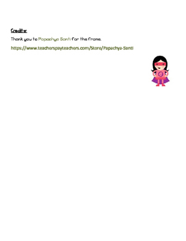Guided Reading Main Character Written Response
