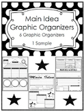 Main Idea & Details Graphic Organizers