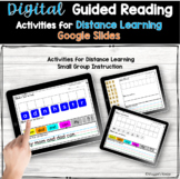 Digital Guided Reading Activities Google Seesaw Distance Learning