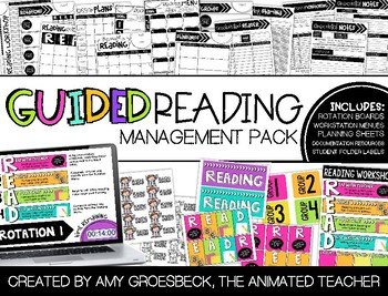 Guided Reading Management Pack