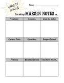 Guided Reading Margin Note Tracker