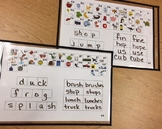 Guided Reading Mat D-E: Initial Blends Digraphs Sounds Ana