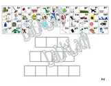 Guided Reading Mat F-I: Initial/Final Blends Digraphs Dictation Sounds Analogies