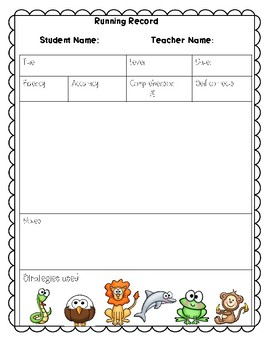 Guided Reading Materials
