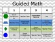 Guided Reading/Math/Centers PowerPoint Board