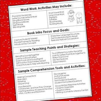 Letters to Parents: Supporting Students at Guided Reading Levels A - J