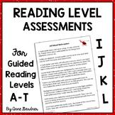 1st - 3rd Grade Progress Monitoring & Benchmark Reading Level Assessment System