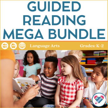 Guided Reading Mega Bundle Lower Elementary