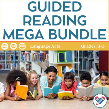 Guided Reading Mega Bundle Upper Elementary