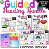 Guided Reading Bundle with Lesson Plans & Word Work Activi