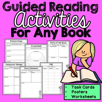 Guided Reading Activities (For Any Book) No Prep BTSDOWNUNDER