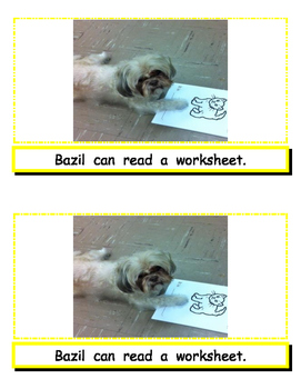 Guided Reading Mini Book Cute Dog Reading Level B With Activities
