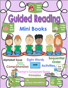 reading comprehension passages and questions K-1