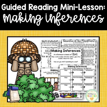 Guided Reading Mini-Lesson: Making Inferences (Intermediate Grades)