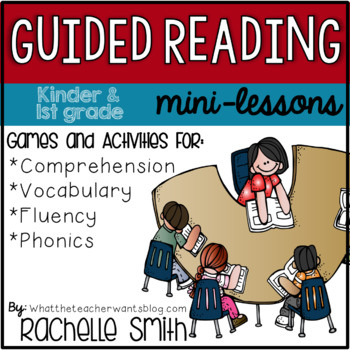 Kinder and 1st Gr. Guided Reading Mini-Lessons {Activities and Resources}