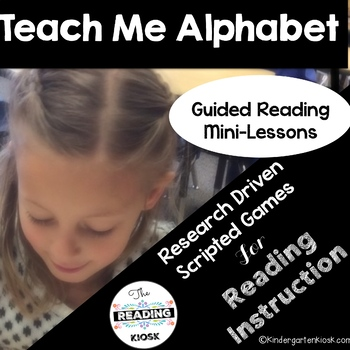 Alphabet Games and Lessons: Teach Me