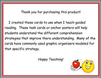 Guided Reading Mini Posters