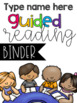 Guided Reading Mini Tool Kit {Editable}