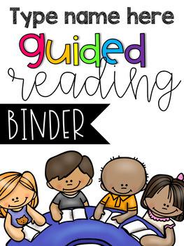 Guided Reading Mini Tool Kit {Editable}