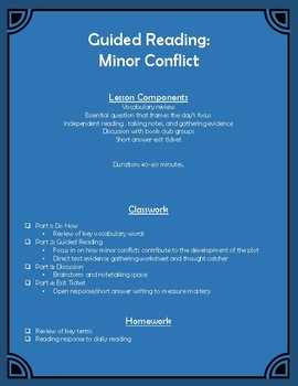 Guided Reading: Minor Conflict Classwork and Homework
