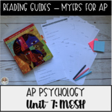 Guided Reading: Motivation, Emotion, & Stress Unit Myers' Psychology for AP