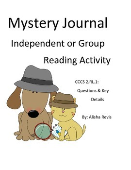 Guided Reading Mystery Case File