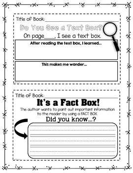 Guided Reading NON-FICTION Interactive Notes: Kindergarten and First Grade