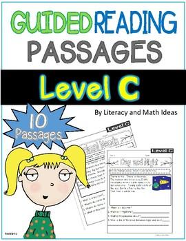 Guided Reading Nonfiction Passages Level C