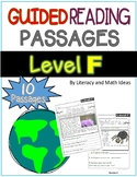 Guided Reading Nonfiction Passages Level F