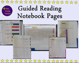 Guided Reading Notebook Forms