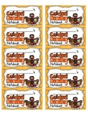 Guided Reading Notebook Labels