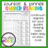 Guided Reading Notes- F&P