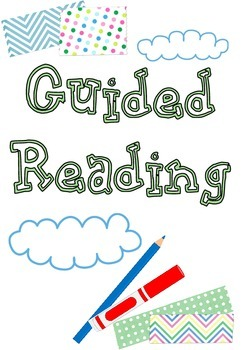 Guided Reading Notes and Observations sheets