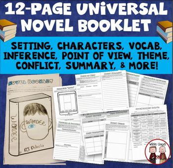 Guided Reading Novel Booklet