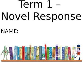 Guided Reading Novel Response PowerPoint