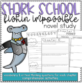 Novel Study Book Club Printable: Shark School: Fishin Impossible